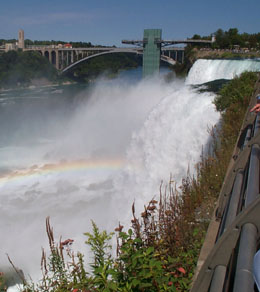 The Falls and Rainbow
